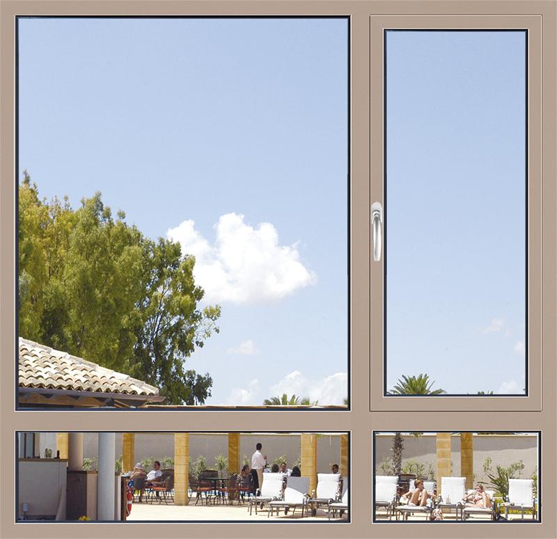 亚材隔热断桥铝合金门窗的性能优点